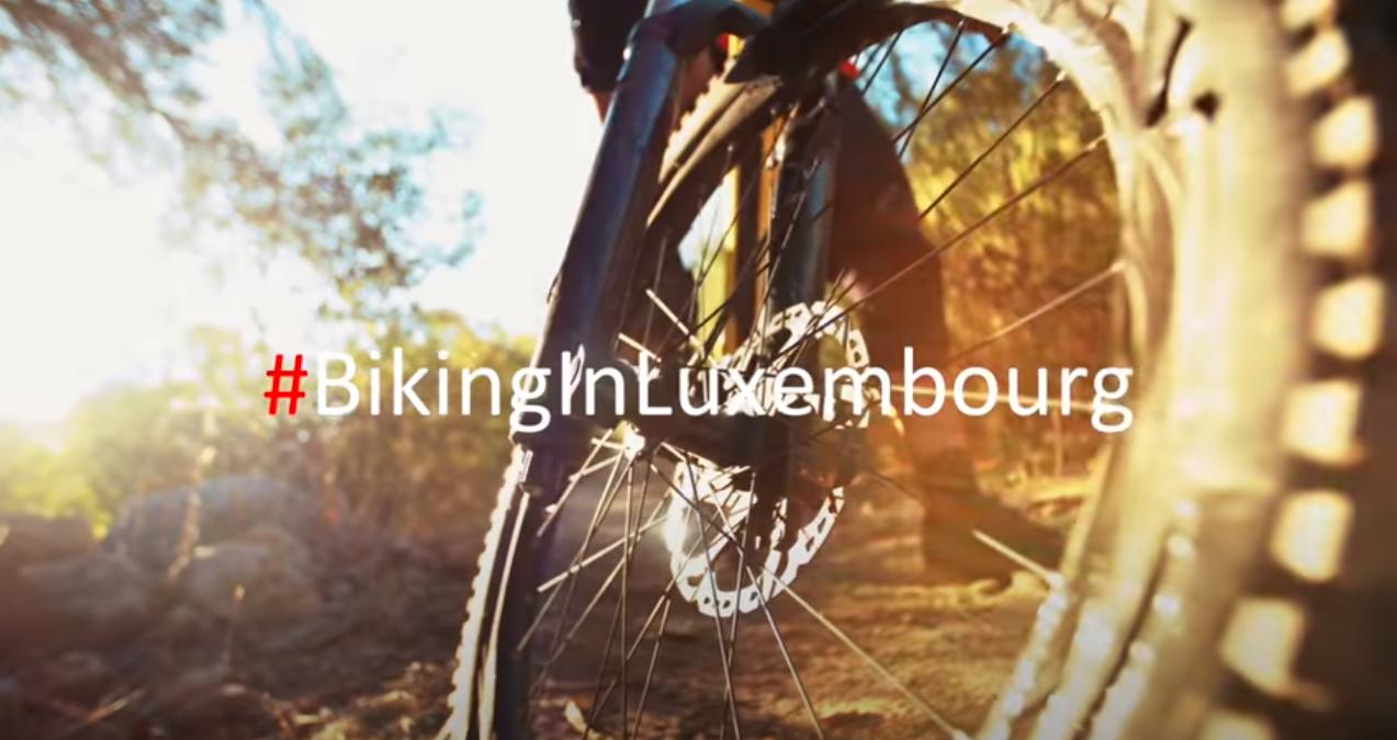 Biking in Luxemburg